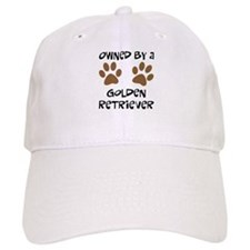 Owned By A Golden... Baseball Cap
