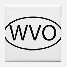 WVO Tile Coaster