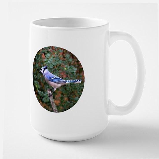Blue Jay Large Mug