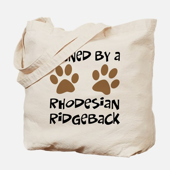 Owned By A Rhodesian... Tote Bag