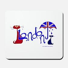 London Kitty Mousepad