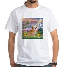 Cloud Angel Welsh Corgi Shirt