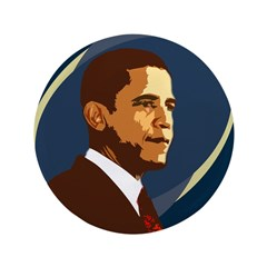 Big Barack Obama Campaign Button