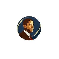Barack Obama Icon Mini Button