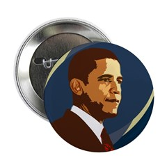 Barack Obama Wordless Button