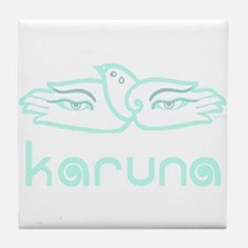 Karuna (Compassion) Tile Coaster