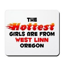 Hot Girls: West Linn, OR Mousepad