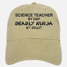 Science Teacher Deadly Ninja Baseball Baseball Cap