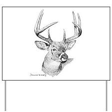 Whitetail Deer Yard Sign
