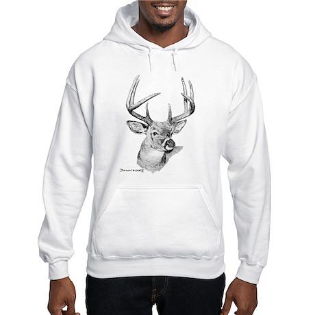 Whitetail Deer Hooded Sweatshirt
