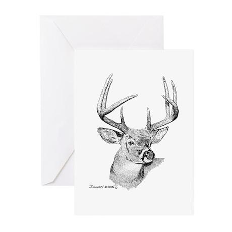 Whitetail Deer Greeting Cards (Pk of 20)