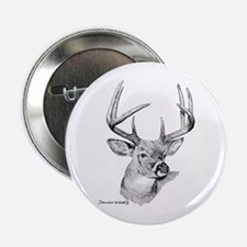 "Whitetail Deer 2.25"" Button (10 pack)"
