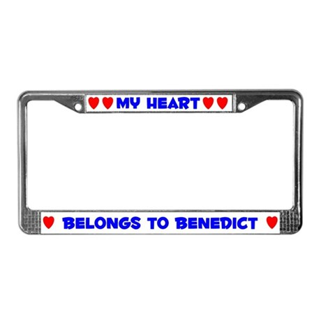 My Heart: Benedict (#005) License Plate Frame