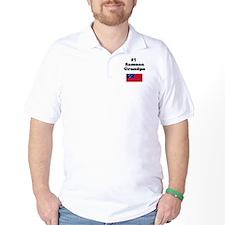 #1 Samoan Grandpa T-Shirt