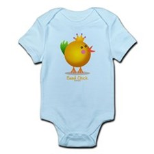 Bead Chick Bead (gold) Infant Bodysuit