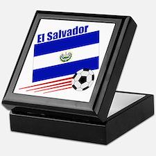 El Salvador Soccer Team Keepsake Box