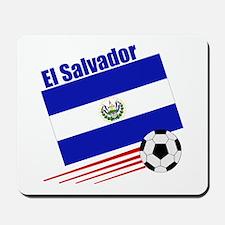 El Salvador Soccer Team Mousepad