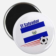 """El Salvador Soccer Team 2.25"""" Magnet (10 pack)"""