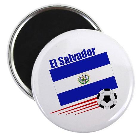 """El Salvador Soccer Team 2.25"""" Magnet (100 pack)"""
