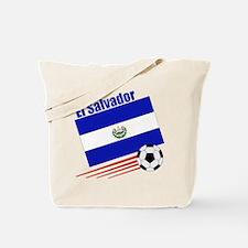 El Salvador Soccer Team Tote Bag