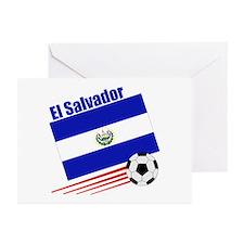 El Salvador Soccer Team Greeting Cards (Pk of 10)