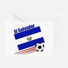 El Salvador Soccer Team Greeting Cards (Pk of 10)