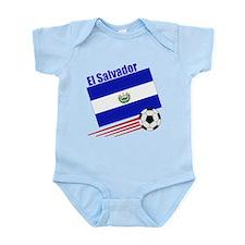 El Salvador Soccer Team Infant Bodysuit
