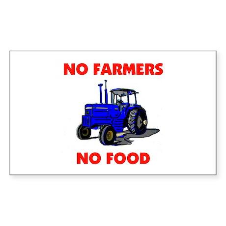 FARMER Rectangle Sticker