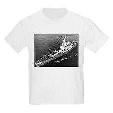 USS Massachusetts Ship's Image T-Shirt