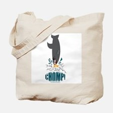Shark Eating A Duck Tote Bag