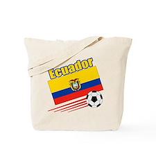 Ecuador Soccer Team Tote Bag