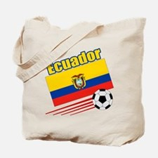 Ecuador Soccer Team Tote Bag