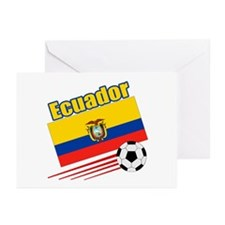 Ecuador Soccer Team Greeting Cards (Pk of 10)