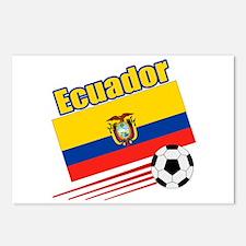 Ecuador Soccer Team Postcards (Package of 8)