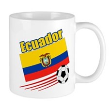 Ecuador Soccer Team Mug