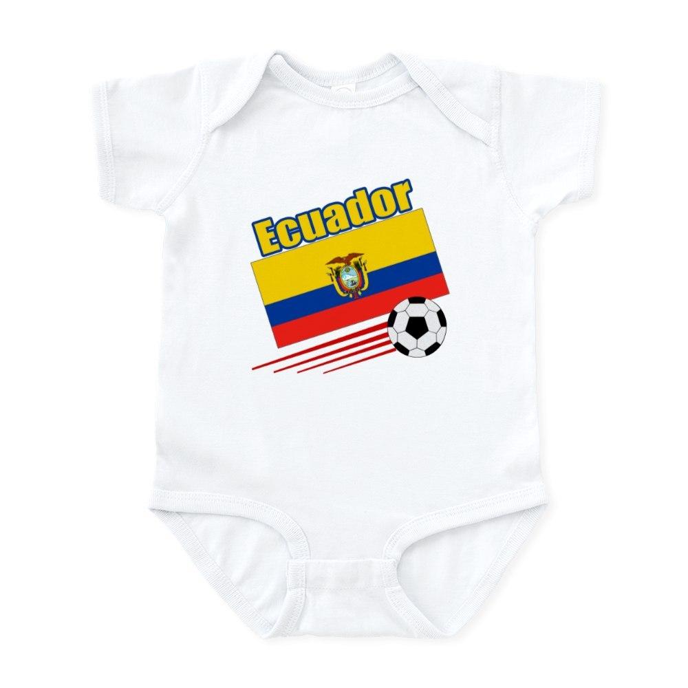 CafePress Ecuador Soccer Team Infant Bodysuit Baby Bodysuit 208657471