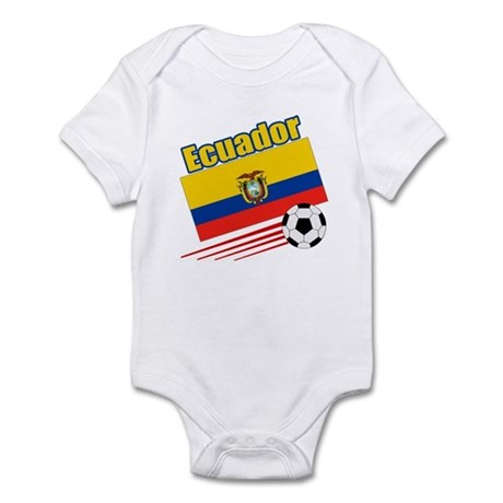 Ecuador Soccer Team Infant Bodysuit