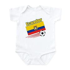 Ecuador Soccer Team Infant Bodysuit