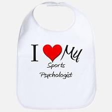 I Heart My Sports Psychologist Bib