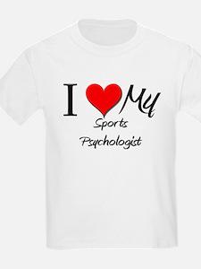 I Heart My Sports Psychologist T-Shirt
