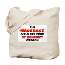 Hot Girls: St Benedict, OR Tote Bag