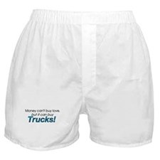 Money & Trucks Boxer Shorts