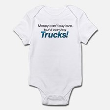 Money & Trucks Infant Bodysuit
