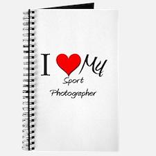 I Heart My Sport Photographer Journal