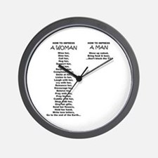 Unique Sex Wall Clock