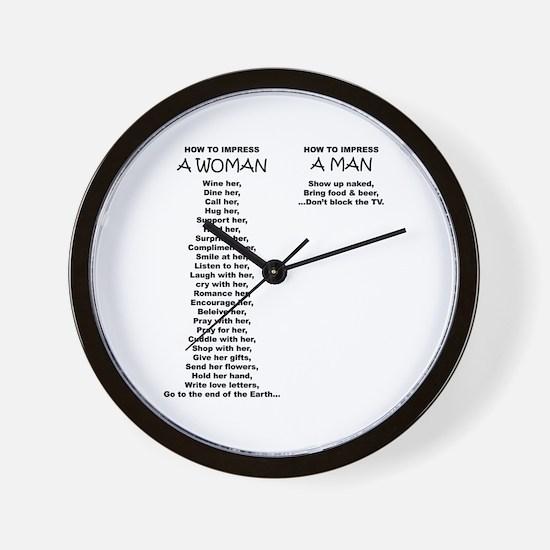 Funny Laughing man Wall Clock