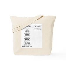 Cool Laughing man Tote Bag