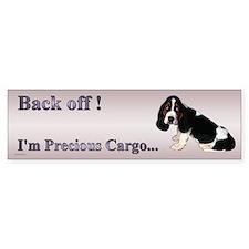 Basset Hound Puppy Bumper Bumper Sticker