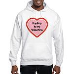 PapPap is My Valentine Hooded Sweatshirt