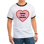 PapPap is My Valentine Ringer T